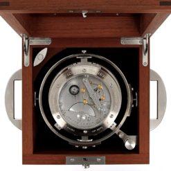 Wooden box carriage clock panerai movement