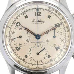montre bracelet Breitling chronographe cadran