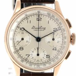 montre bracelet Breitling premier 787 cadran