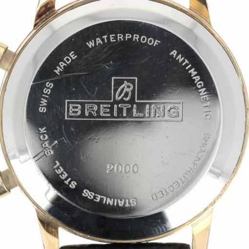 montre bracelet Breitling top time fond