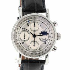 montre bracelet Chronoswiss lunar chronographe cadran 2