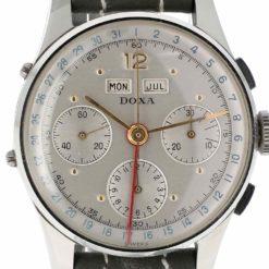 montre bracelet Doxa triple date cadran 3