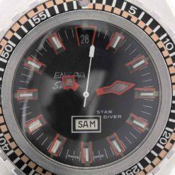 montre bracelet Enicar sherpa star diver cadran 3