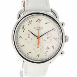 montre bracelet Hermes arceau chronographe cadran 2