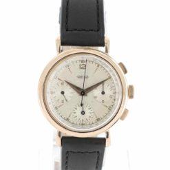 montre bracelet Jaeger chronographe cadran