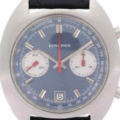 montre bracelet Longines chronographe cadran