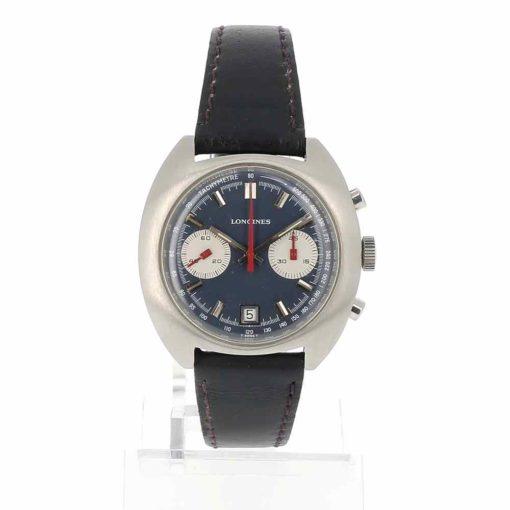 montre bracelet Longines chronographe cadran 3
