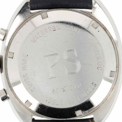 montre bracelet Longines chronographe fond