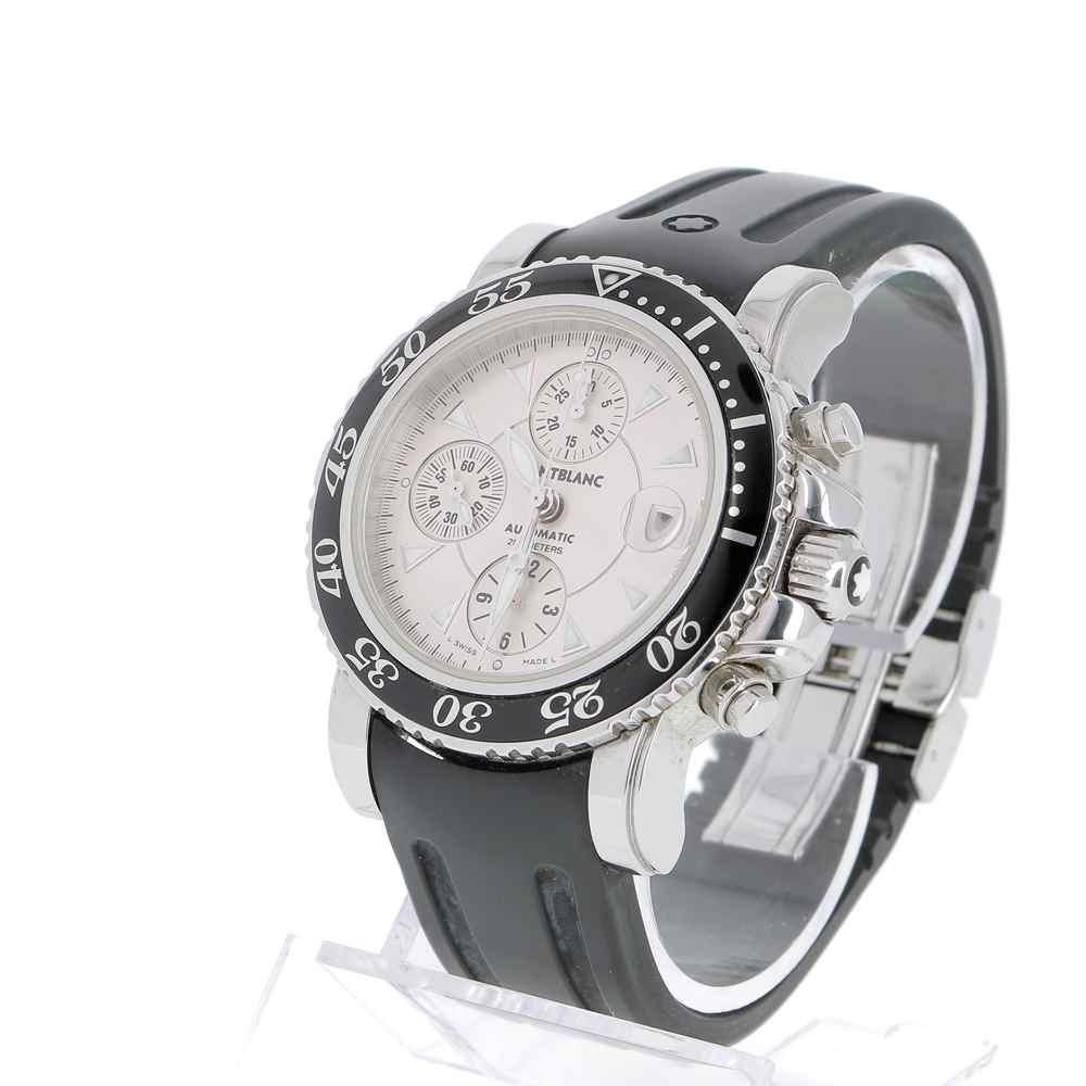 montre montblanc meisterstuck chronographe occasion achetez en ligne sur watch montre paris. Black Bedroom Furniture Sets. Home Design Ideas