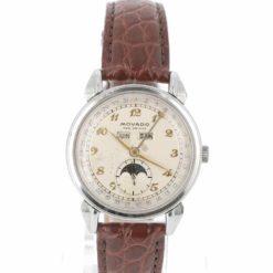 montre bracelet Movado celestograf cadran 2