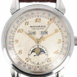 montre bracelet Movado celestograf cadran 3