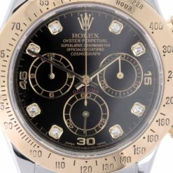 montre bracelet Rolex daytona 116523 diamants cadran