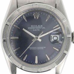 montre bracelet Rolex oyster perpetual date cadran 4