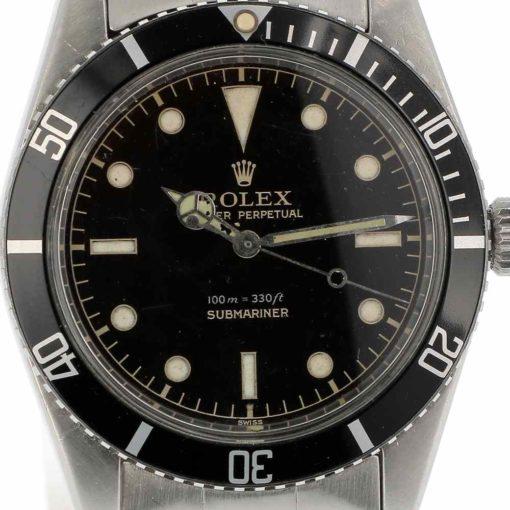montre bracelet Rolex submariner 5508 cadran 3