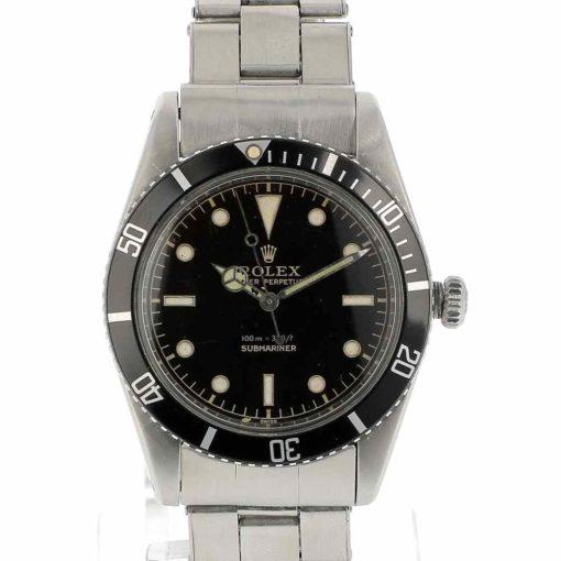 montre bracelet Rolex submariner 5508 cadran
