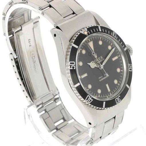 montre bracelet Rolex submariner 5508 lunette