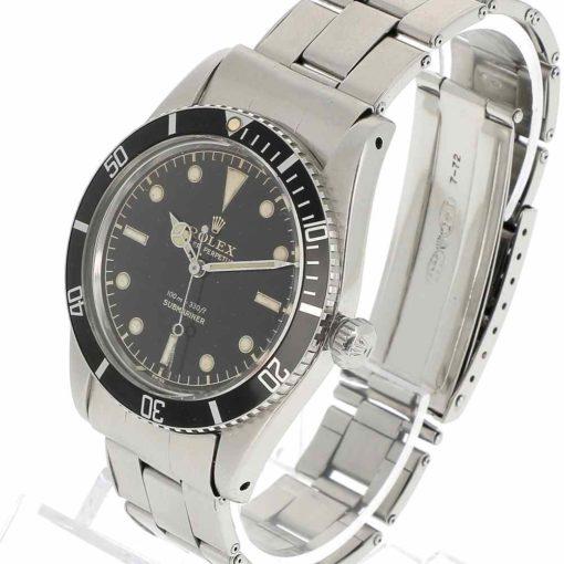 montre bracelet Rolex submariner 5508 remontoir