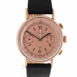 montre bracelet Ulysse Nardin chronographe cadran 2