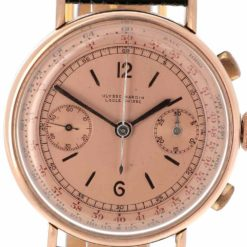 montre bracelet Ulysse Nardin chronographe cadran 3