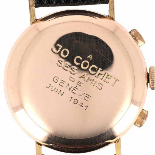montre bracelet Ulysse Nardin chronographe fond