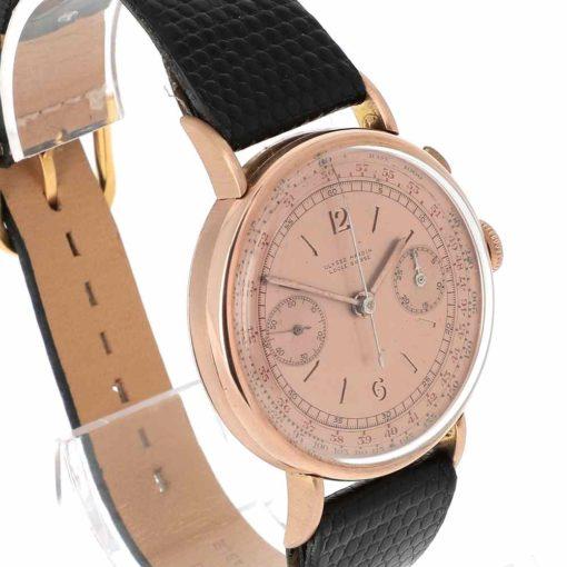 montre bracelet Ulysse Nardin chronographe lunette