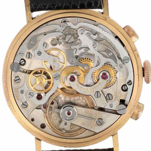 montre bracelet Ulysse Nardin chronographe mouvement