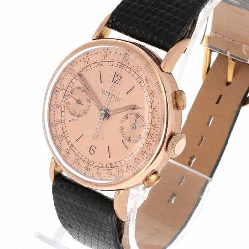 montre bracelet Ulysse Nardin chronographe remontoir
