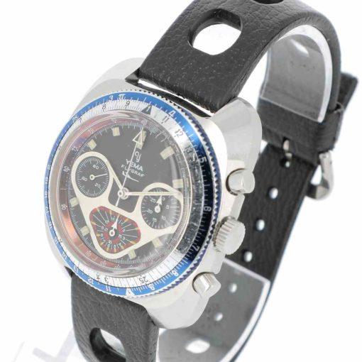 montre bracelet Yema flygraf remontoir