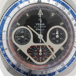 montre bracelet Yema flygraph cadran 3