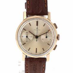 montre bracelet Zenith chronographe cadran 2