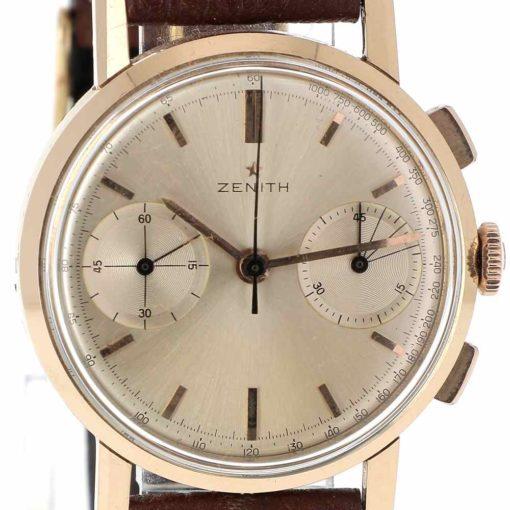 montre bracelet Zenith chronographe cadran 3