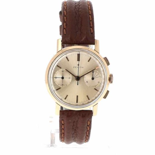 montre bracelet Zenith chronographe cadran