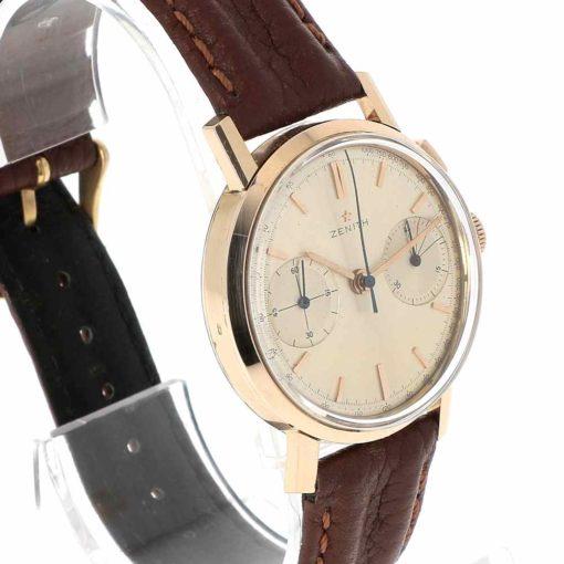 montre bracelet Zenith chronographe lunette