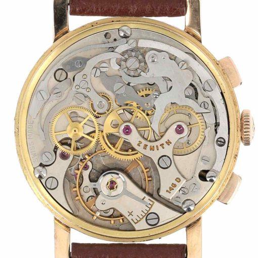 montre bracelet Zenith chronographe mouvement