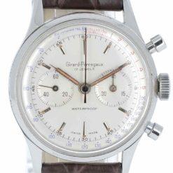 montre bracelet Girard Perregaux chronographe cadran 3