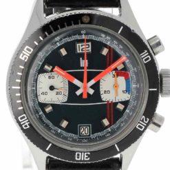 montre bracelet Lip chronographe cadran