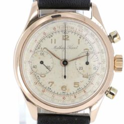 montre bracelet Mathey Tissot chronographe cadran 2