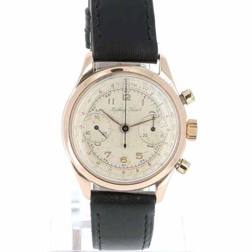 montre bracelet Mathey Tissot chronographe cadran