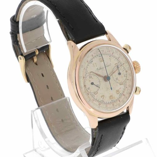 montre bracelet Mathey Tissot chronographe lunette