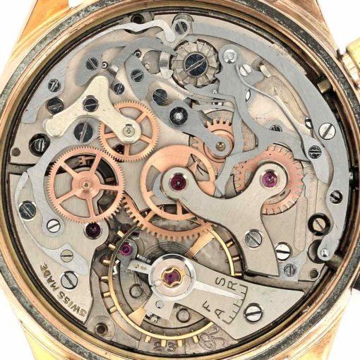 montre bracelet Mathey Tissot chronographe mouvement