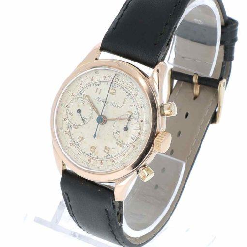 montre bracelet Mathey Tissot chronographe remontoir