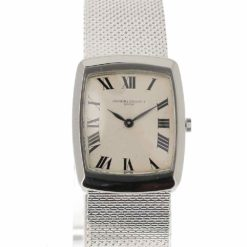 montre bracelet Vacheron Constantin or blanc cadran 2