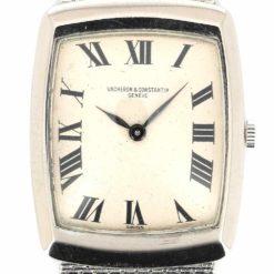 montre bracelet Vacheron Constantin or blanc cadran