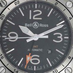 montre bracelet Bell & Ross gmt cadran