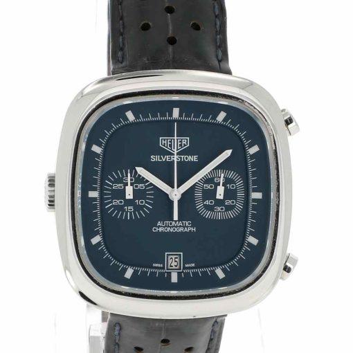 montre bracelet Heuer silverstone cadran 3