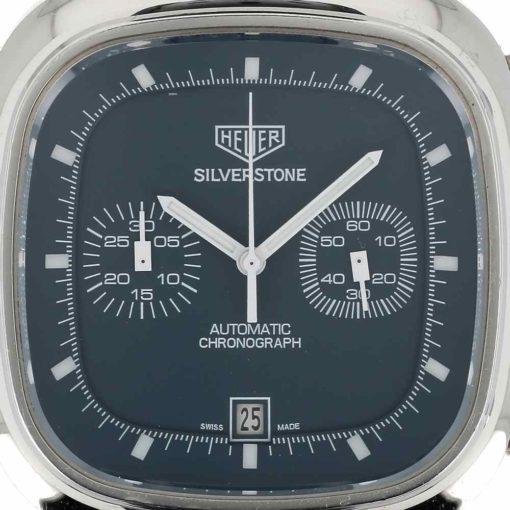 montre bracelet Heuer silverstone cadran