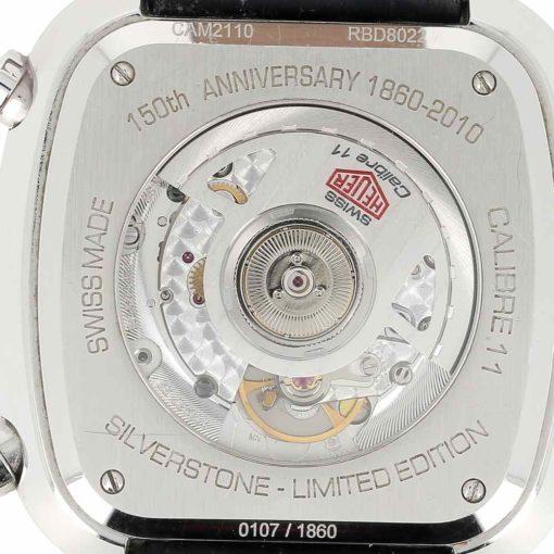 montre bracelet Heuer silverstone fond