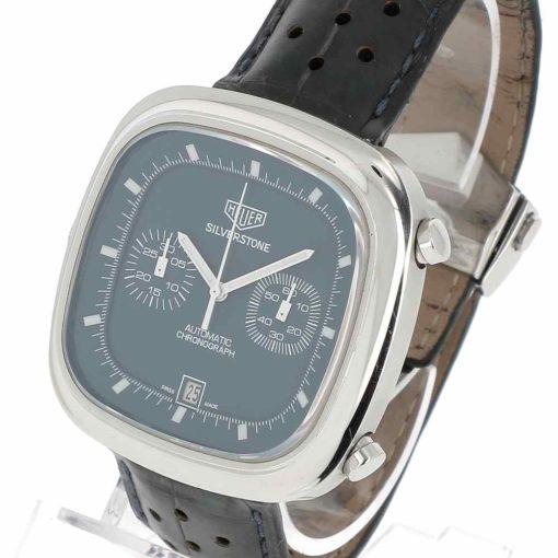 montre bracelet Heuer silverstone lunette