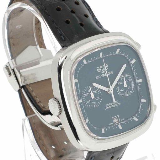 montre bracelet Heuer silverstone remontoir
