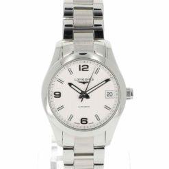 montre bracelet Longines conquest cadran 2